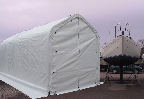 Boat Storage Shelters : Boat shelter storage tent