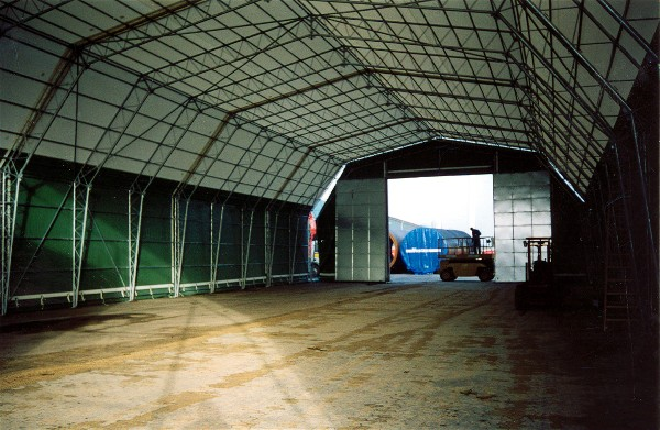 Trussed Buildings Tents Storage work tents storagetent by ...