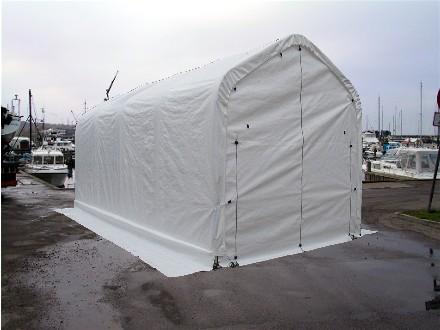 Boat building house storage tents tent by dancover