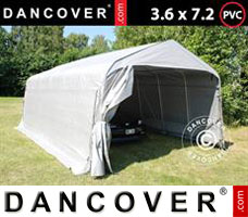 Portable garage 2.4x6x2.34 m PVC, Green