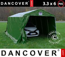 Portable garage 3.6x8.4x2.7 PVC, Green