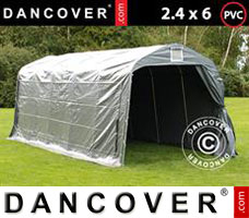 Portable garage 1.7x2.7 m PVC Grey