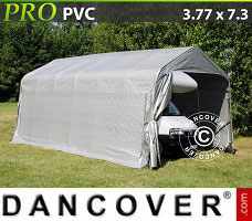 Portable garage 3.6x7.2x2.7 mPVC, Green