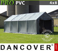 Portable garage 3.6x6x2.68 m PVC Green