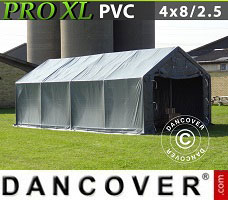 Portable garage 3.3x6x2.4 m PVC green